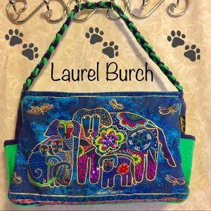 NWOT Laurel Burch Canine Family Embellished Tote🐾